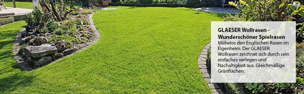 Glaeser green wollrasen